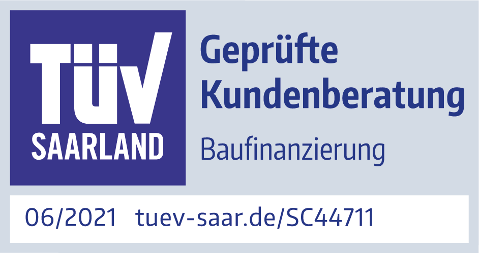 TÜV-Zertifizierte Baufinanzierung