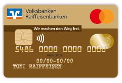 Kreditkarte GoldCard