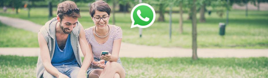 Schreiben Sie uns bequem und einfach per WhatsApp
