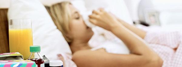 Schutz vor Erkältung Grippe